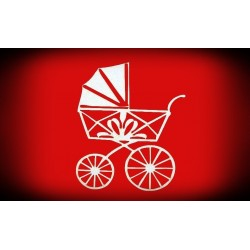 Dekor wózek - wzór 1