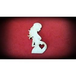 Dekor - kobieta w ciąży
