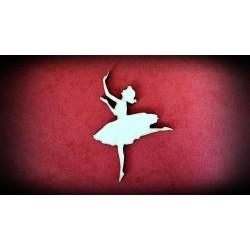 Dekor - baletnica wzór 3