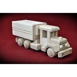 Drewniana ciężarówka RETRO - skarbonka