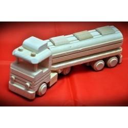 Drewniana ciężarówka - cysterna 1