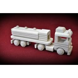 Drewniana ciężarówka - cysterna 2
