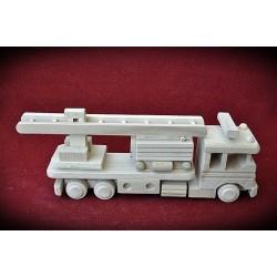 Drewniana ciężarówka STRAŻ POŻARNA - 1