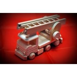 Drewniana ciężarówka STRAŻ POŻARNA - 2