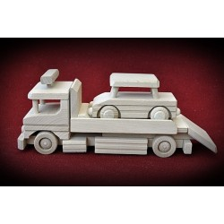 Drewniana ciężarówka - AUTO LAWETA