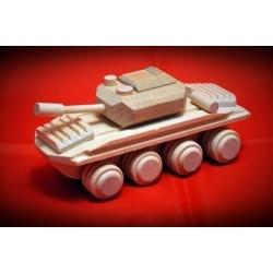 Drewniany czołg - 1