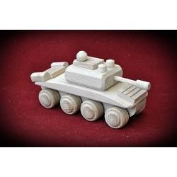 Drewniany czołg - 2