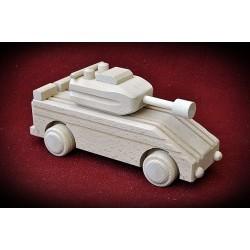 Drewniany czołg - transporter