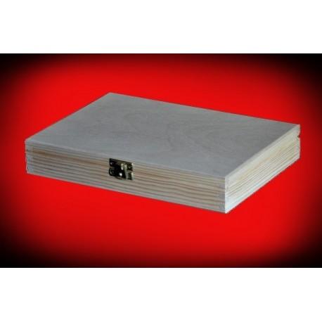 Pudełko prostokątne 27,5 x 21 x 4,7 cm