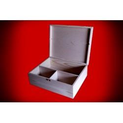 Drewniane pudełko na alkohol