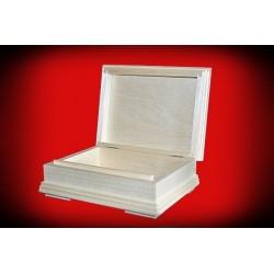 Pudełko z gzymsem małe 17 x 12,5 x 5,5