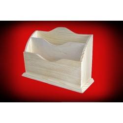 Drewniany listownik
