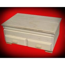 Drewniana szkatułka - komoda