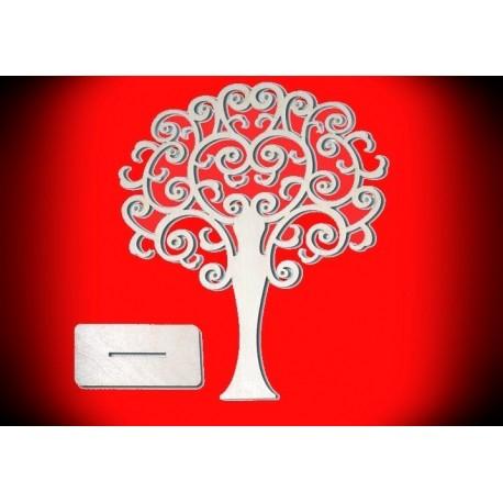 Stojak drzewko na biżuterię