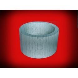 Drewniany świecznik okrągły 3 cm