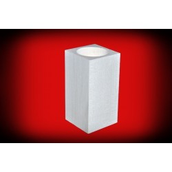 Drewniany świecznik kwadratowy 10 cm