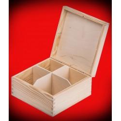 Pudełko cztery komory
