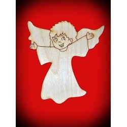 Dekor aniołek - wzór 2