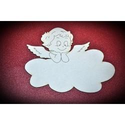 Aniołek na chmurce chłopiec