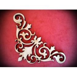 Ornament narożnik mały - wzór 11