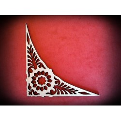 Ornament narożnik duży - wzór 12