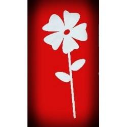 Kwiatek na patyczku - wzór 2