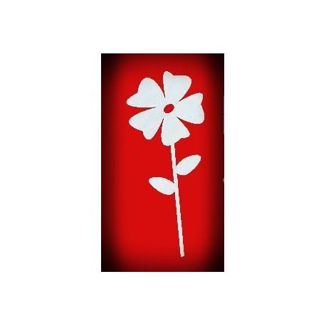 Kwiatek na długim patyczku