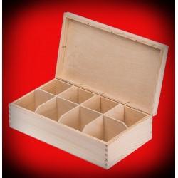 Pudełko osiem komór