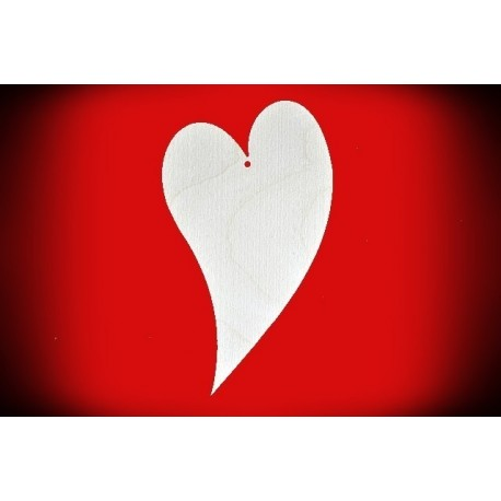 Serce ze sklejki