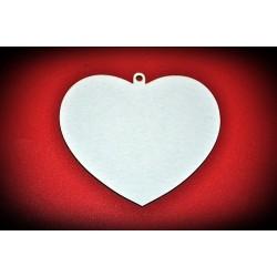 Serce z oczkiem - zawieszka