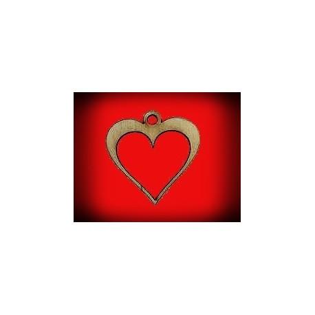 Serce z oczkiem puste