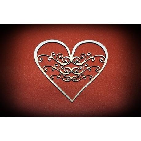 Serce z beermaty - wzór 1