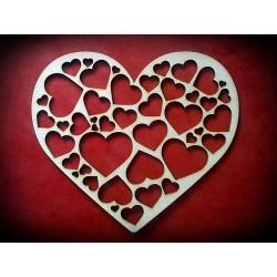 Serce z beermaty - wzór 3