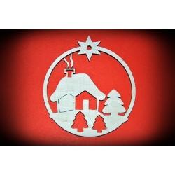 Zawieszka Bożonarodzeniowa - wzór 5