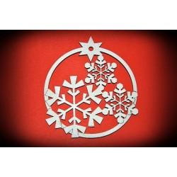 Zawieszka Bożonarodzeniowa - wzór 6