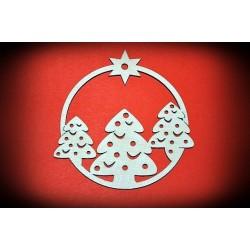 Zawieszka Bożonarodzeniowa - wzór 11