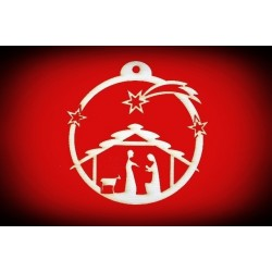Zawieszka Bożonarodzeniowa - wzór 21
