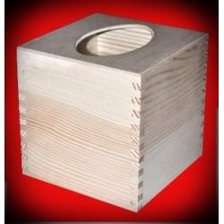 Pudełko kwadratowy chustecznik