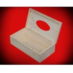 Pudełko chustecznik otwierany od góry