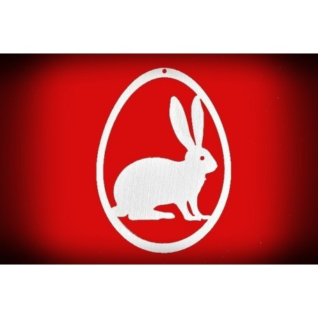 Zawieszka pisanka - królik